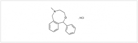 Nefopam, HCl active pharmaceutical ingredient
